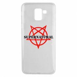 Чехол для Samsung J6 Supernatural