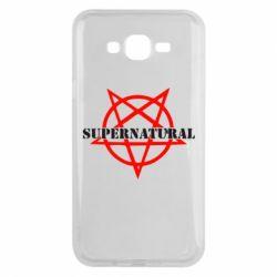 Чехол для Samsung J7 2015 Supernatural