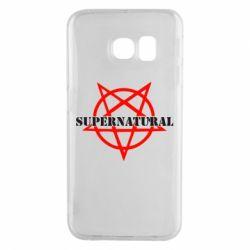 Чехол для Samsung S6 EDGE Supernatural