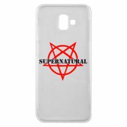 Чехол для Samsung J6 Plus 2018 Supernatural