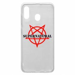 Чехол для Samsung A20 Supernatural