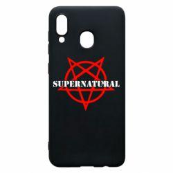 Чехол для Samsung A30 Supernatural