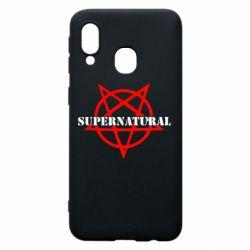 Чехол для Samsung A40 Supernatural