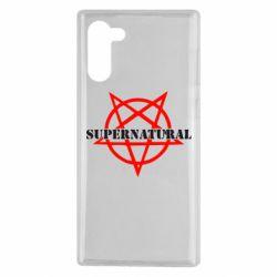 Чехол для Samsung Note 10 Supernatural