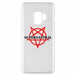 Чехол для Samsung S9 Supernatural