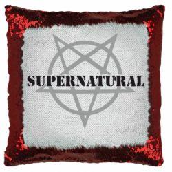 Подушка-хамелеон Supernatural