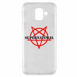 Чехол для Samsung A6 2018 Supernatural