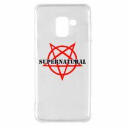 Чехол для Samsung A8 2018 Supernatural