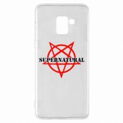 Чехол для Samsung A8+ 2018 Supernatural