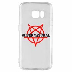 Чехол для Samsung S7 Supernatural