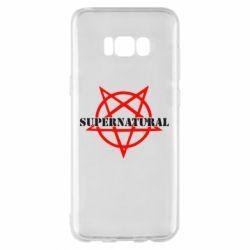 Чехол для Samsung S8+ Supernatural