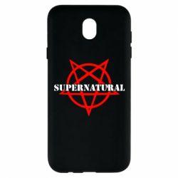 Чехол для Samsung J7 2017 Supernatural