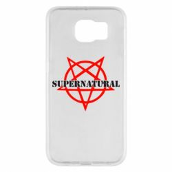 Чехол для Samsung S6 Supernatural