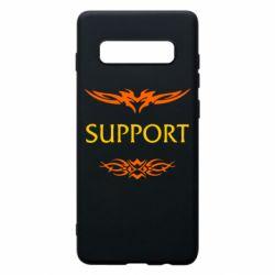 Чехол для Samsung S10+ Support