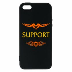 Чехол для iPhone5/5S/SE Support