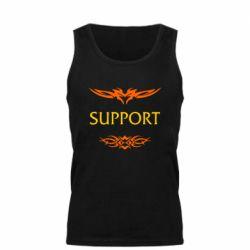 Мужская майка Support