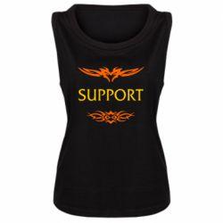 Женская майка Support