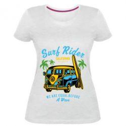 Жіноча стрейчева футболка Surf Rider