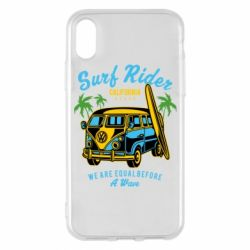 Чохол для iPhone X/Xs Surf Rider