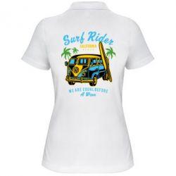 Жіноча футболка поло Surf Rider
