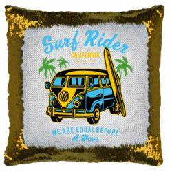 Подушка-хамелеон Surf Rider