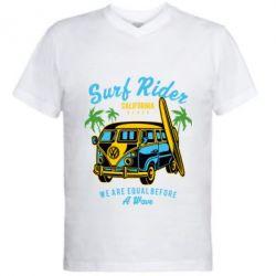 Чоловіча футболка з V-подібним вирізом Surf Rider