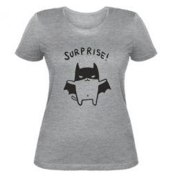 Женская футболка Surprise! - FatLine