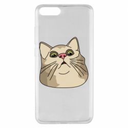 Чехол для Xiaomi Mi Note 3 Surprised cat