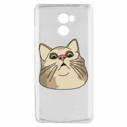 Чехол для Xiaomi Redmi 4 Surprised cat