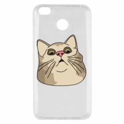 Чехол для Xiaomi Redmi 4x Surprised cat