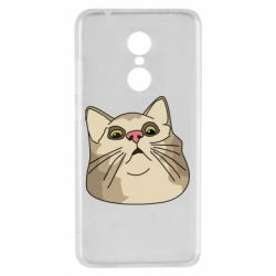 Чехол для Xiaomi Redmi 5 Surprised cat