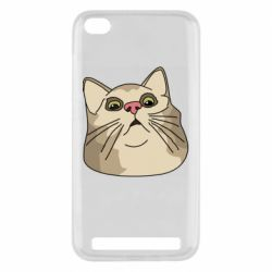 Чехол для Xiaomi Redmi 5A Surprised cat