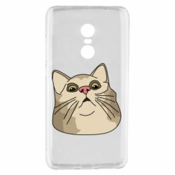 Чехол для Xiaomi Redmi Note 4 Surprised cat