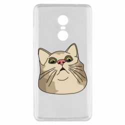 Чехол для Xiaomi Redmi Note 4x Surprised cat