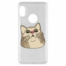 Чехол для Xiaomi Redmi Note 5 Surprised cat