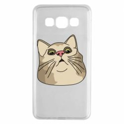 Чехол для Samsung A3 2015 Surprised cat