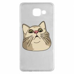 Чехол для Samsung A5 2016 Surprised cat