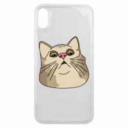 Чехол для iPhone Xs Max Surprised cat