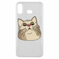 Чехол для Samsung A6s Surprised cat
