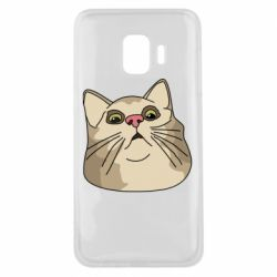 Чехол для Samsung J2 Core Surprised cat