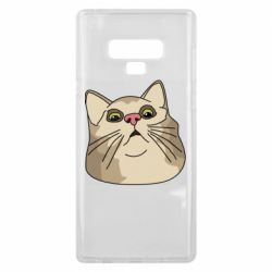 Чехол для Samsung Note 9 Surprised cat
