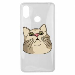 Чехол для Xiaomi Mi Max 3 Surprised cat