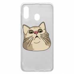 Чехол для Samsung A30 Surprised cat