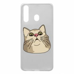 Чехол для Samsung A60 Surprised cat