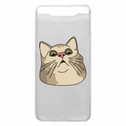 Чехол для Samsung A80 Surprised cat
