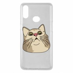 Чехол для Samsung A10s Surprised cat