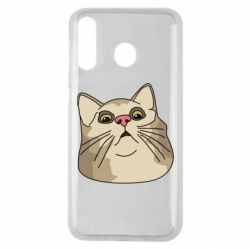 Чехол для Samsung M30 Surprised cat