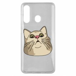 Чехол для Samsung M40 Surprised cat