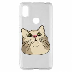 Чехол для Xiaomi Redmi S2 Surprised cat