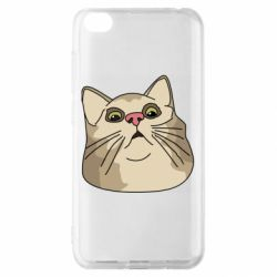 Чехол для Xiaomi Redmi Go Surprised cat